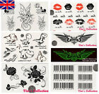 Waterproof Removable Temporary Tattoos Body Art Stickers Boys/Girls/Kids/Party