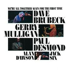 We'Re All Together Again For T - Dave Brubeck (1987, CD NEUF) CD-R