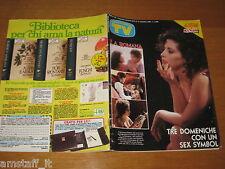 TV SORRISI CANZONI=1988/45=FRANCESCA DELLERA=PINO DANIELE=STRISCIA LA NOTIZIA=