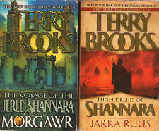 Partial Set Series - Lot of 16 Shannara Hardcover Terry Brooks (Word and Void)
