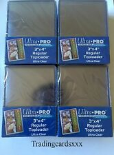 ♦MTG/Pokémon/Yu-Gi-Oh!♦ 100 Protèges Cartes rigide Ultra PRO Regular Toploader