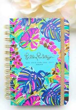 New 2016- 2017 Lilly Pulitzer  Exotic Garden 17 month Mini Agenda