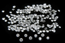 *Hot Deals* 10 Pic  1.6mm  White Round Loose Diamond(Star)