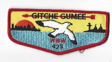 OA Lodge 423 Gitche Gumee F2a Flap Atlantic Area Council [Y480]