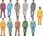 Men's Stand Out Branded Crazy Suits Stag Night Funny Comedy Fancy Dress Costume