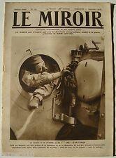 LE MIROIR n°147 ¤ 17/09/1916 ¤ UN HOMME DANS L'AME D'UN CANON DE 400