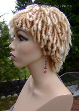 Dreadlocks .. Dreads .. Rachel Wig . Hot!!  27T613 -Strawberry tipped with blond