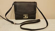 NWT Kate Spade Everett Way Merrick Crossbody Handbag Leather Black $229