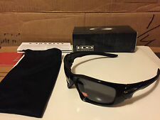NEW Oakley - POLARIZED SCALPEL - Polished Black / Grey Polarized, OO9095-05