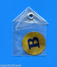 """KICA - Sorprese Decalcomania Figurina-Sticker anni 60 - LETTERA """"B"""" TONDA"""
