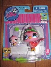 Littlest Pet Shop #3603 & 3604 Mommy BIRD and Baby Bird LPS NEW