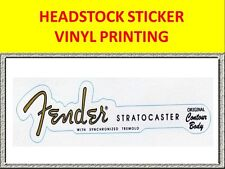 VINYL PRINTING HEADSTOCK FEND STRAT 50'S VISIT OUR STORE WITH MANY MORE MODELS