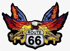 Patch écusson Aigle route 66 GF blouson cuir moto custom harley motard choppers