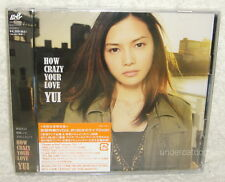 YUI How Crazy Your Love 2011 Japan Ltd CD+DVD (HELLO Green a.live It's My Life)