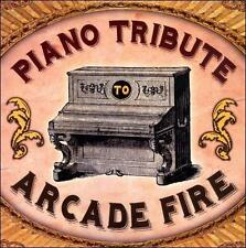 Piano Tribute to Arcade Fire by Various Artists (CD, May-2011, CC Entertainment)