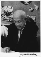 HENRI CARTIER-BRESSON last portrait in Barcelone-Spain. Signed print 9,5x7 in.