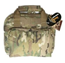 "11"" Multicam Army Camo Padded Bag Range Pistol Gun Hunting Lockable"