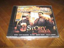 DEVO & Big Rich - 3 Story Muzik Rap CD - Messy Marv Fully Loaded Luni Coleone