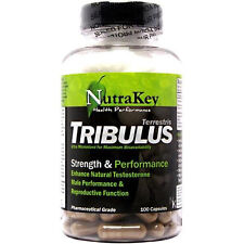 NutraKey Tribulus 100 Capsules   Testosterone Booster