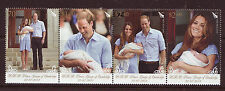 NEW ZEALAND 2013 ROYAL BABY STRIP OF 4 UNMOUNTED MINT