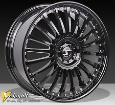 4 Schmidt Revolution Felgen 85x19 CF-Line BlackGloss für Audi BMW Mercedes VW
