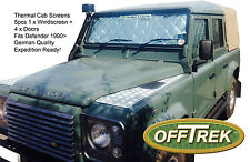 Land Rover DEFENDER CAB Internal Screens - Set of 5pcs - Expedition German made
