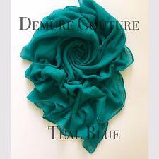 Ladies Big Large Maxi Plain Viscose/Rayon Shawl Scarf Hijab Sarong Wrap Cape Wom