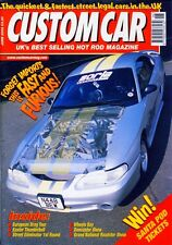 CUSTOM CAR JUNE 2002-96 MUSTANG DRAGSTER-56 FORD RETRACTABLE-V8 HOT ROD DRAG MAG