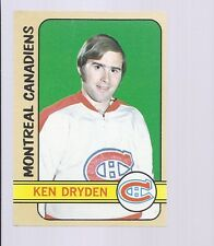 1972-73 Topps Hockey Ken Dryden #160 *CANADIENS*