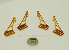 143h: 2 pair Aluminum Control Horns(10x20x29mm,2 L/R)parts for RC Airplane(G)
