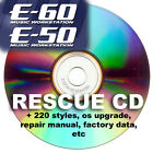 cd Roland E50 E60 with 220 styles from G70 E80, repair service manuals & update,