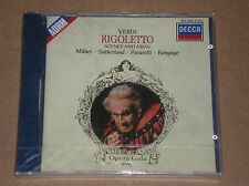 GIUSEPPE VERDI - RIGOLETTO: SCENES AND ARIAS - CD SIGILLATO (SEALED)