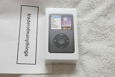 Apple iPod Classic 160 GB 7th Generation Black * NEW * FACTORY SEALED *