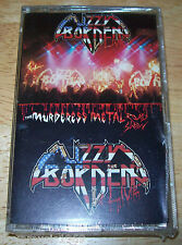 LIZZY BORDEN LIVE BRAND NEW Cassette Tape SEALED The Muderess Metal Road Show