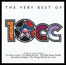 10cc - VERY BEST OF D/Rem CD ~ I'M NOT IN LOVE~DREADLOCK HOLIDAY+++ 70's *NEW*