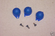 1967 1968 1969 1970 Ford Mustang Blue Bulb Lens (3) for Dash Instruments