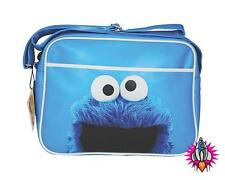 Sesame Street Cookie Monster Blu Spalla Messaggero Palestra Scuola Sport Bag