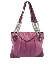 Marc Jacobs Purple Leather Chain Shoulder Bag