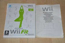 lot Wii Fit Plus Balance Board : le jeu + notice - Pas de balance