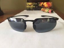 NEW  Maui Jim Sunglasses Polarized Kanaha Gloss Black 409-02
