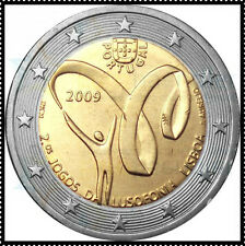 2 EURO commemorative Portugal 2009 *** Lusophonia 2009 !!!!