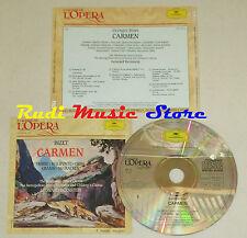 CD BIZET Carmen HORNE MALIPONTE GIBBS GRAMM McCRACKEN grandi opera lp mc dvd