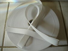 2 yards**.WHITE* 1 inch elastic band