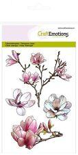 Craft emociones claro Sellos-Magnolia - 1249-Flores-Resorte-Cardmaking