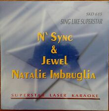 N' SYNC JEWEL NATALIE IMBRUGLIA 1999 Laserdisc Superstar KARAOKE LD New Sealed