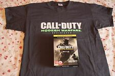 CALL OF DUTY: INFINITE WARFARE Promo BOX with Modern Warefare T-SHIRT L Size
