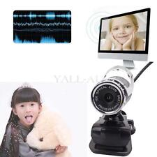 360°Full HD 12MP 1080P USB Webcam Network Camera with Built-in Mic for PC Laptop