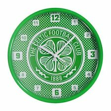 Celtic FC Bullseye Wall Clock