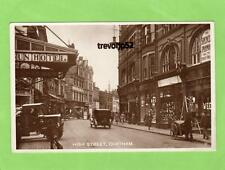 High Street Chatham  RP pc  used 1927 Ref A846
