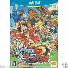 Used Wii U One Piece: Unlimited World R NAMCO JAPANESE VERSION IMPORT NINTENDO
